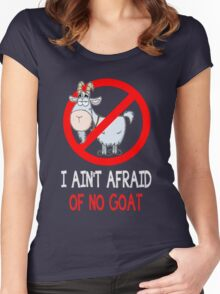 Bill Murrays Goat Tee Women's Fitted Scoop T-Shirt