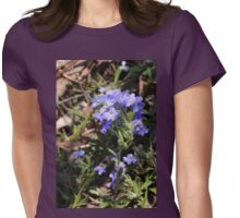 Dampiera Blue Womens Fitted T-Shirt
