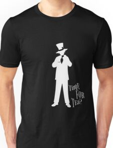 Time For Tea - Hatter (White Version) Unisex T-Shirt