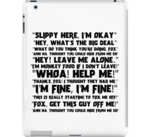 Slippy Quotes - Star Fox iPad Case/Skin