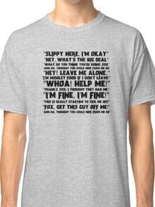 Slippy Quotes - Star Fox Classic T-Shirt