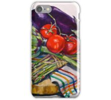 Artichokes with a touch of asparagus. 2012Ⓒ iPhone Case/Skin