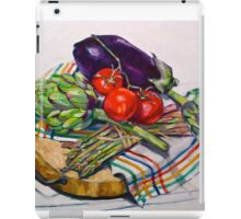 Artichokes with a touch of asparagus. 2012Ⓒ iPad Case/Skin