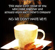 No Wi-Fi by Randi Grace Nilsberg