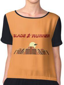 Blade Runner Tyrell building Chiffon Top