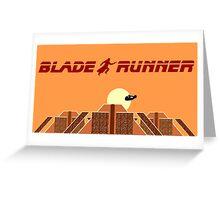 Blade Runner Tyrell building Greeting Card