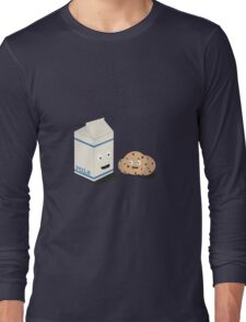 Cookies and Milk best friends Long Sleeve T-Shirt