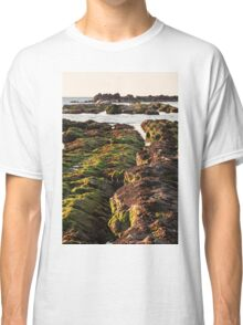 The passetto rocks at sunrise, Ancona, Italy Classic T-Shirt