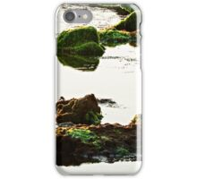 The passetto rocks and water, Ancona, Italy iPhone Case/Skin