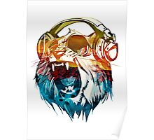 lion cool Poster