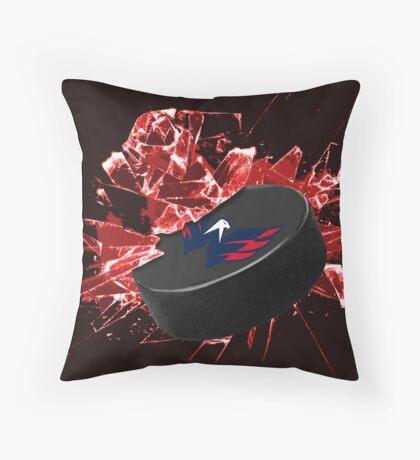 Washington Capitals Puck Throw Pillow