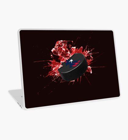 Washington Capitals Puck Laptop Skin