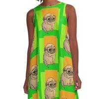 dog A-Line Dress