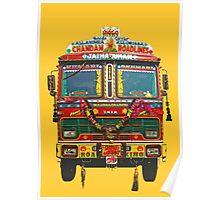 Indian Truck Art Poster