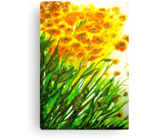 Sizzling Sunflowers  Canvas Print