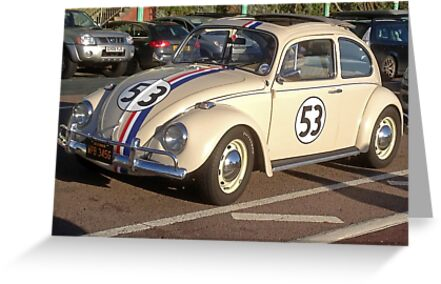 Herbie 53 in Brighton by Keith Larby
