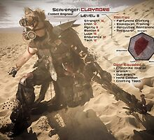 Claymore's Stats (Scavengers Poster) by Kenazz