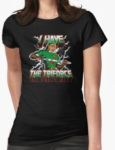 I Have the Triforce Womens Fitted T-Shirt