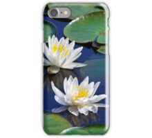 Tropical Water Lilies iPhone Case/Skin