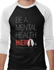In Honor Of Jensen/Dean - Mental Health Hero Men's Baseball ¾ T-Shirt