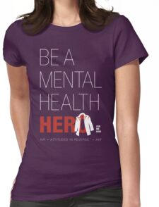 In Honor Of Jensen/Dean - Mental Health Hero Womens Fitted T-Shirt