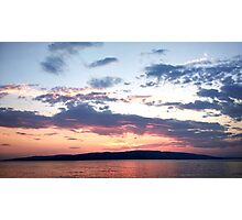 Sea Sunset Photographic Print