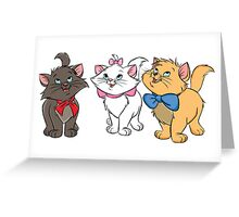 Aristokittens Greeting Card