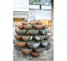 Brass Water fountain in Nuremberg Photographic Print