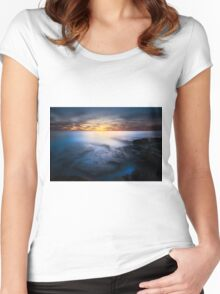 Blue Mists Women's Fitted Scoop T-Shirt