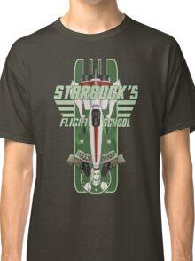 STARBUCK'S FLIGHT SCHOOL Classic T-Shirt