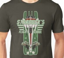 STARBUCK'S FLIGHT SCHOOL Unisex T-Shirt