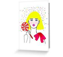 Heidi Greeting Card