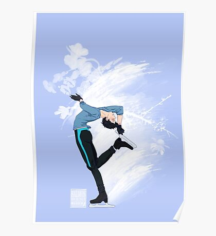 Yuuri Katsuki - Yuri on Ice! Poster