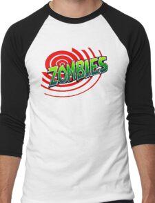 Zombies Ate My Neighbors Men's Baseball ¾ T-Shirt