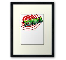 Zombies Ate My Neighbors Framed Print