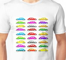 VW Multi Beetle Unisex T-Shirt
