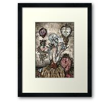 "Frustration -Is An Evil Attitude"" Framed Print"
