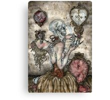 "Frustration -Is An Evil Attitude"" Canvas Print"