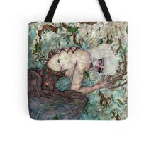 A Sinful Life Dying Tote Bag