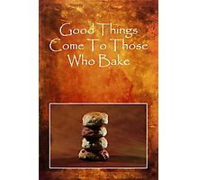 About Baking Photographic Print