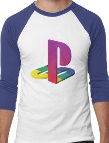 PlayStation Aesthetic Logo Men's Baseball ¾ T-Shirt
