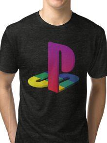 PlayStation Aesthetic Logo Tri-blend T-Shirt