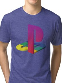 PlayStation Aesthetic Logo Tri-blend T-Shirt