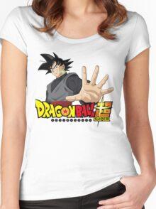 Goku Black Dragonball Super Women's Fitted Scoop T-Shirt
