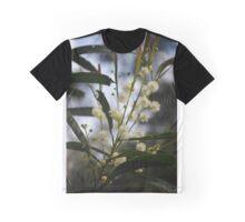 Wattle Flower Graphic T-Shirt