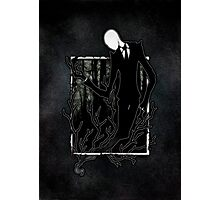 Slenderman IV Photographic Print