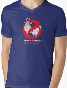 I Ain't Afraid of No Goat Mens V-Neck T-Shirt