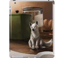 wolf pup iPad Case/Skin