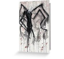 Slenderman II Greeting Card