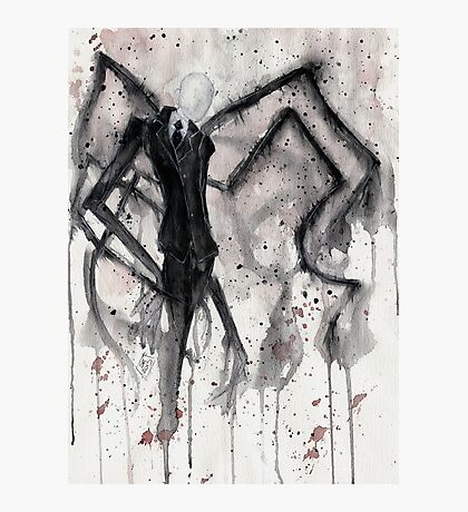 Slenderman II Photographic Print